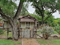 Rustic house near Mission Espada