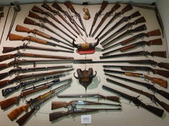 Housing more than 12,000 firearms, the J.M. Davis museum is the largest privately held firearms collection in the world