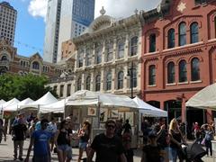 Pecan street festival; Sixth Street in Austin