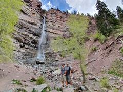 Cascade Falls; Ouray