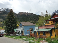 Pretty Ouray, located in the heart of the San Juan Mountains