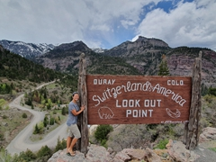 "Ouray, touted as the ""Switzerland of America"""