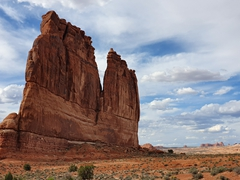 Phenomenal geological formations abound at Arches National Park