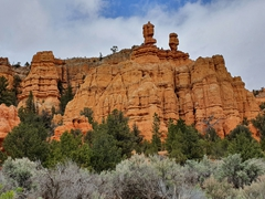 "Utah's ""All American Road"", Hwy 12, has dramatic scenery like this to tempt you to drive slow"