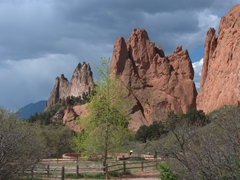 Garden of the Gods is a free park in Colorado Springs - well worth a visit!