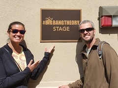 The Big Bang Theory stage; Burbank