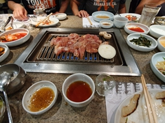 Our Korean BBQ feast at Chosun Galbee