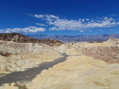 Scenic overlook from Zabriskie Point; Death Valley