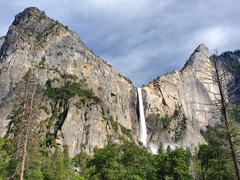 Bridalveil Fall; Yosemite