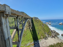 Rockey Creek Bridge; Big Sur coast
