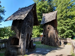 Redwood tree houses