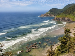 Oregon's gorgeous coastline