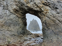 Hole-in-the-Wall; Rialto Beach