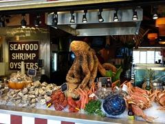 Fresh seafood; Fisherman's Wharf, Monterey