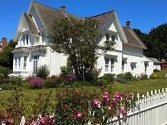 Blair house; Mendocino