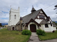 St Mary & St George Anglican church; Jasper