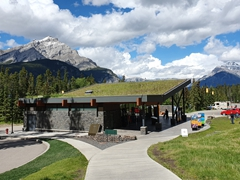 Gift shop for the Cave and Basin National Historic Site; Banff