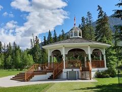Central Park gazebo; Banff