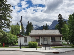 The old police station; Canmore