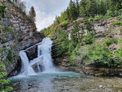 Cameron Falls; Waterton