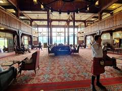 Interior view of the Prince of Wales hotel