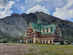 An iconic hotel since the 1920s, the Prince of Wales hotel in Waterton