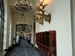 Hallway at the Fairmont Chateau Lake Louise