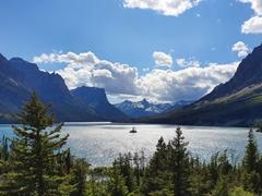 Wild Goose Island; Glacier NP