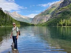 Robby at Avalanche Lake
