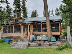 Barb's cabin; Placid Lake