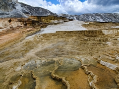 Mammoth Hot Springs Terraces; Yellowstone