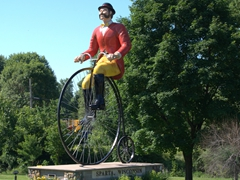 Sparta, Wisconsin - the bicycling capital of America