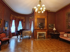 Interior view of one of the most stunning homes in Old Louisville; Conrad-Caldwell House Museum