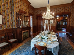 Dining room; Conrad-Caldwell House Museum