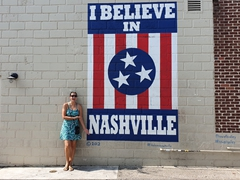 I believe in Nashville!