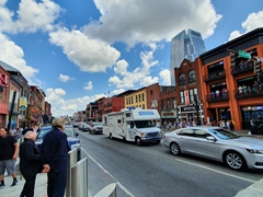 Broadway street; Nashville