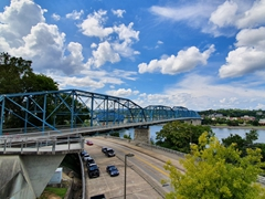 Walnut Street Bridge; Chattanooga