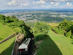 Lookout Mountain's incline railway, one of the world's steepest passenger railways