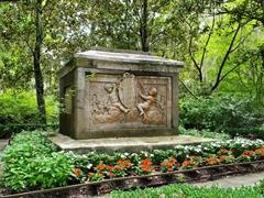 Drayton family tomb; Magnolia Plantation