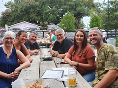 SPAWAR reunion with Michelle, Chris, Ken and Deirdre at Commonhouse Aleworks