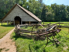19th Century barn; Mountain Farm Museum