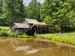 The picturesque Mabry Mill