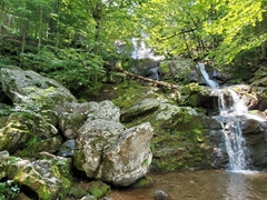 Dark Hollow Falls; Shenandoah National Park