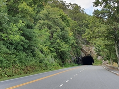 Shenandoah National Park tunnel