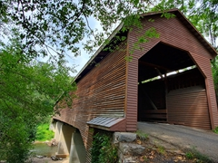 Meems Bottom Covered Bridge, the longest covered bridge in Virginia