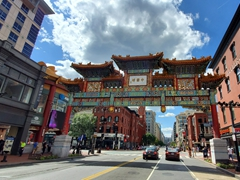 Friendship Arch; Chinatown