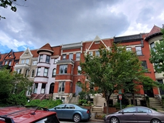 Gorgeous houses on Q Street NW