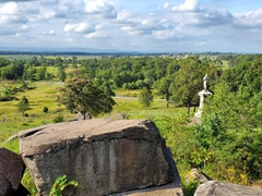 View from Little Round Top; Gettysburg