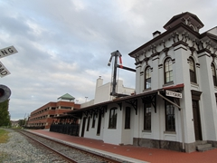 Gettysburg's historic train station