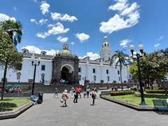 The Metropolitan Cathedral of Quito